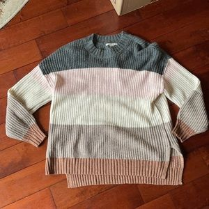 AE Striped Oversized Sweater
